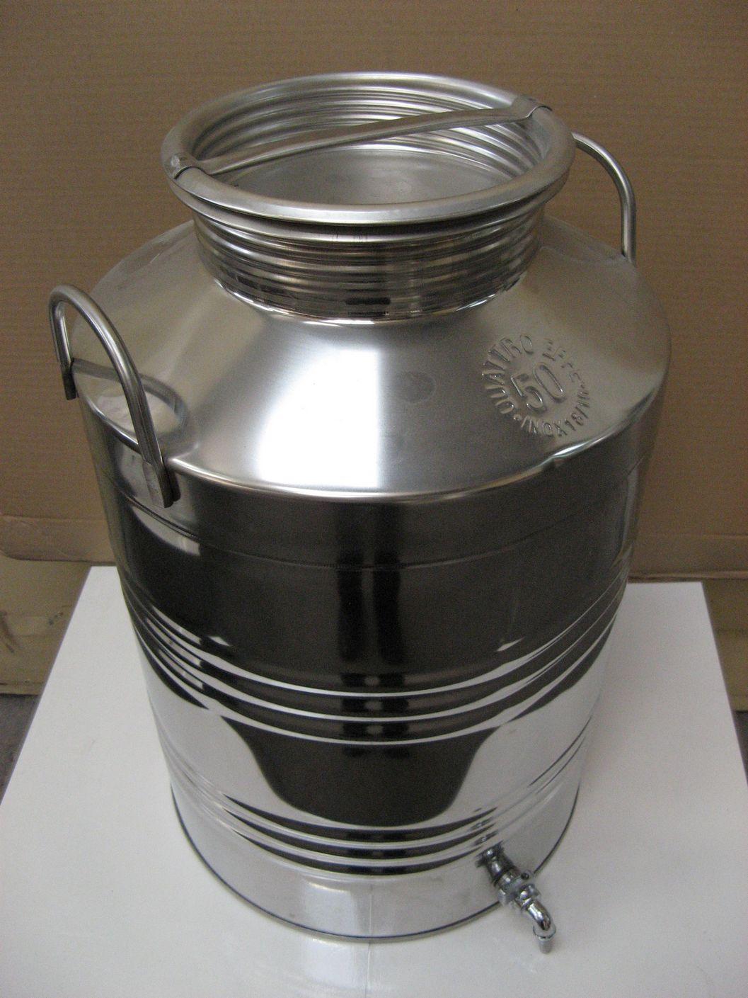 אולטרה מידי מיכל נירוסטה 10 ליטר + ברז ZD-27